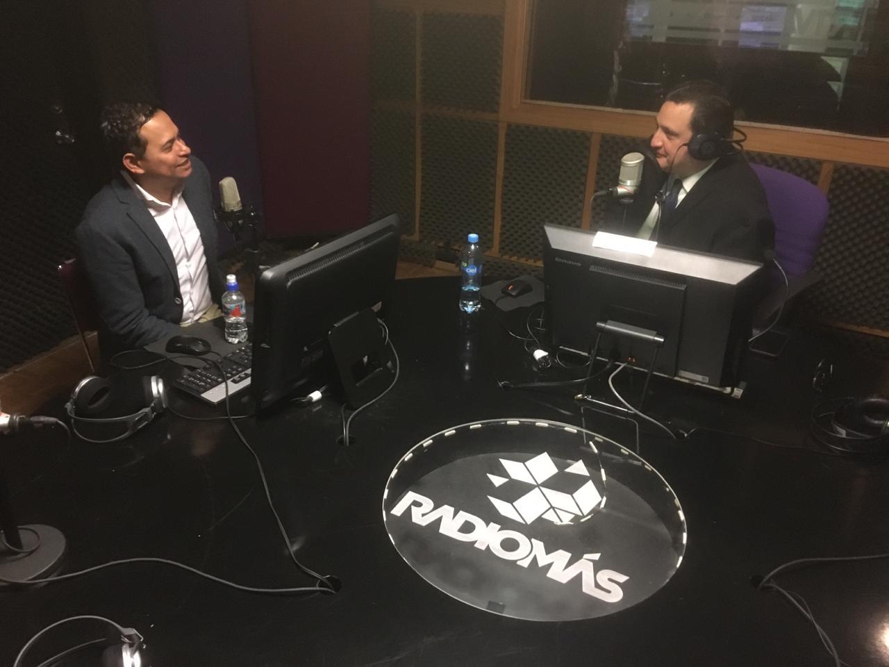 Los noticieros en Radio Más se han fortalecido; continuamos creciendo: Víctor Hugo Cisneros
