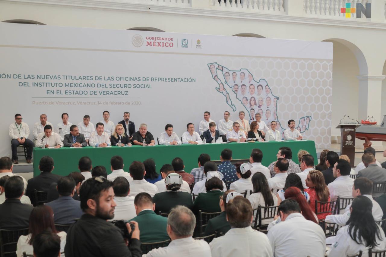 Nombran a 2 mujeres como delegadas del IMSS para el norte y sur de Veracruz