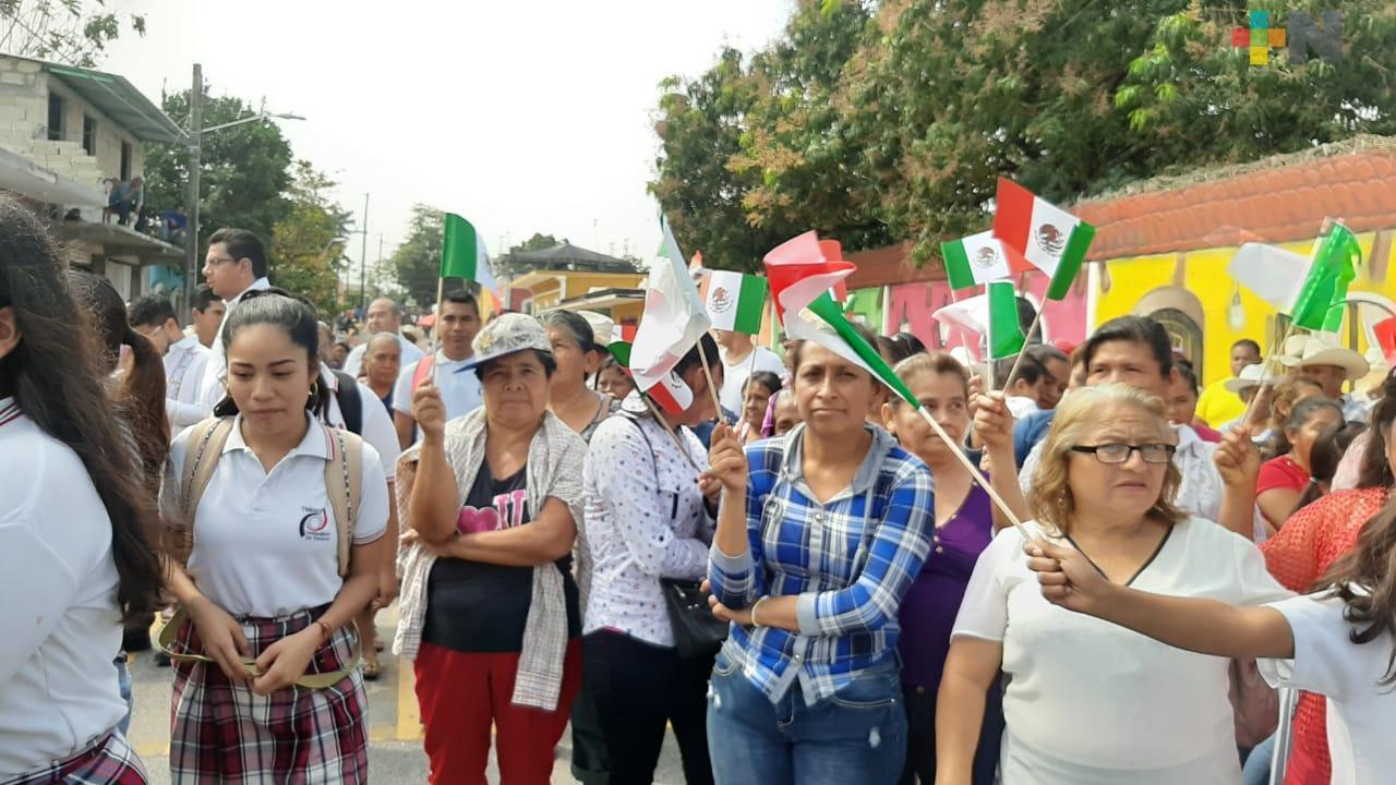 En Soledad de Doblado reconocen el interés del gobierno del estado de Veracruz en conmemorar la firma de los Tratados