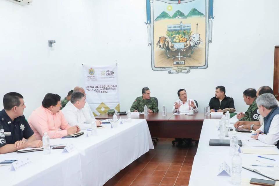 Cuitláhuac García ha encabezado Mesas para la Construcción de la Paz en 64 municipios prioritarios