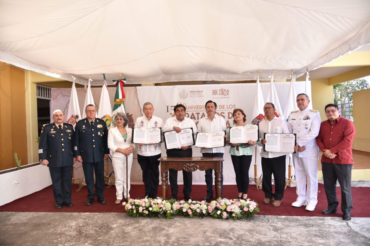 Encabezó Cuitláhuac García firma de Acuerdo para el Desarrollo con 7 estados limítrofes con Veracruz