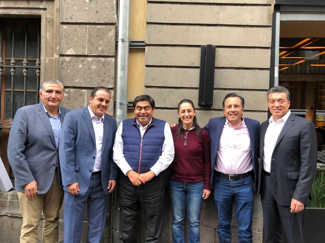 Gobernadores y Jefa de la CDMX morenistas, felicitan a AMLO por su exitosa visita la Casa Blanca