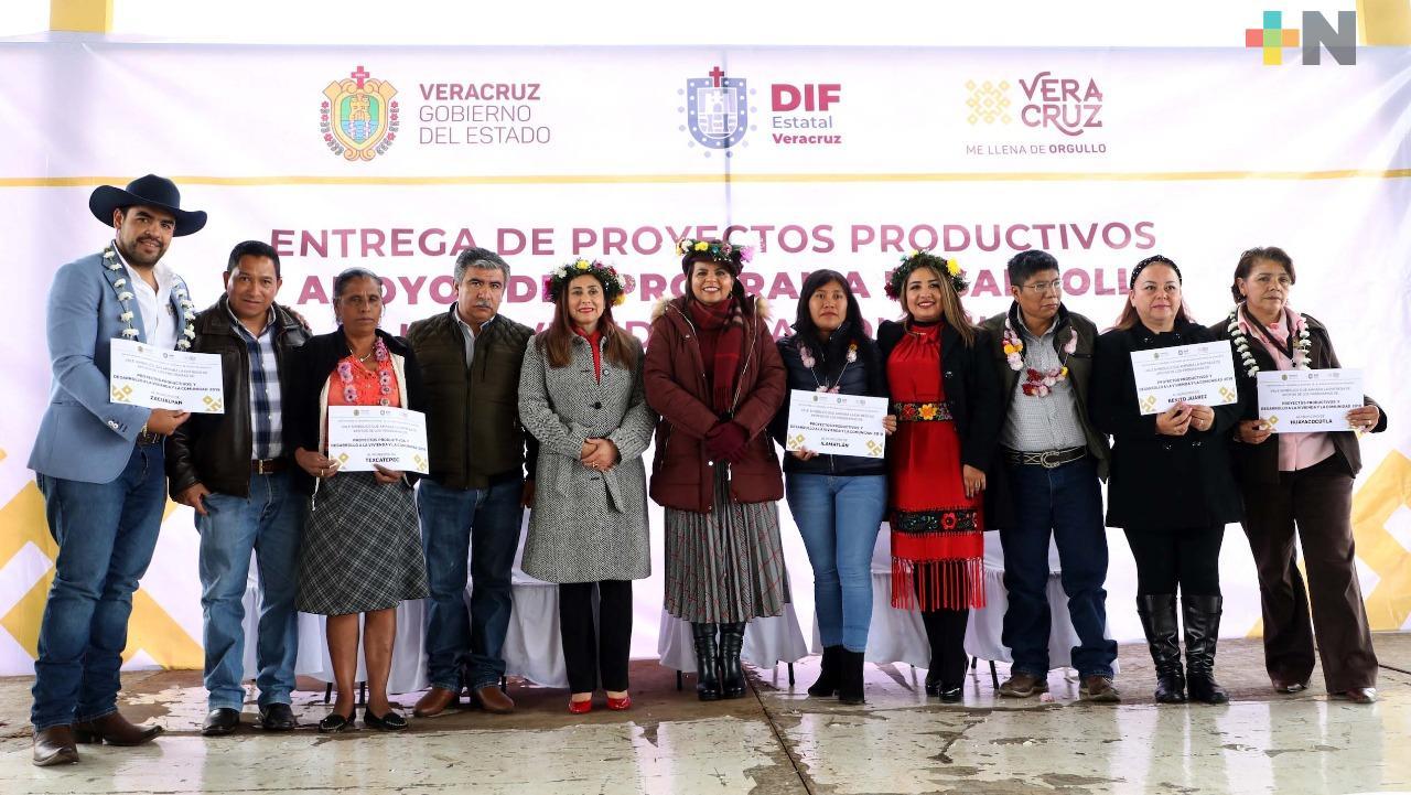 """Entrega DIF insumos de """"Proyectos Productivos"""" y """"Desarrollo a la Vivienda y la Comunidad"""""""