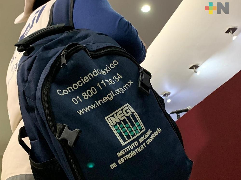 A partir del lunes 2 de marzo, 11 mil personas del INEGI censarán en Veracruz