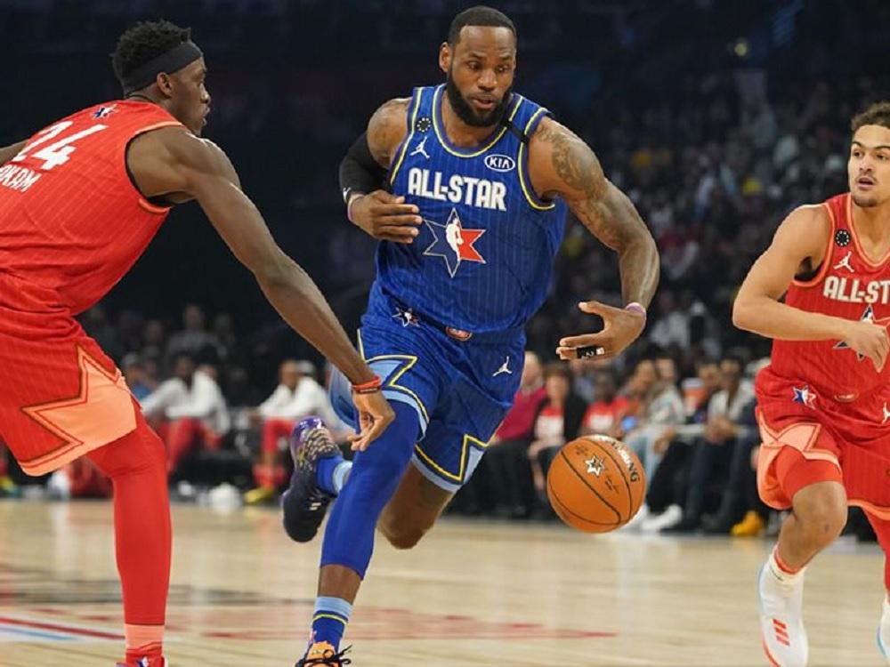 Equipo LeBron se lleva Juego de Estrellas NBA bajo nuevo formato