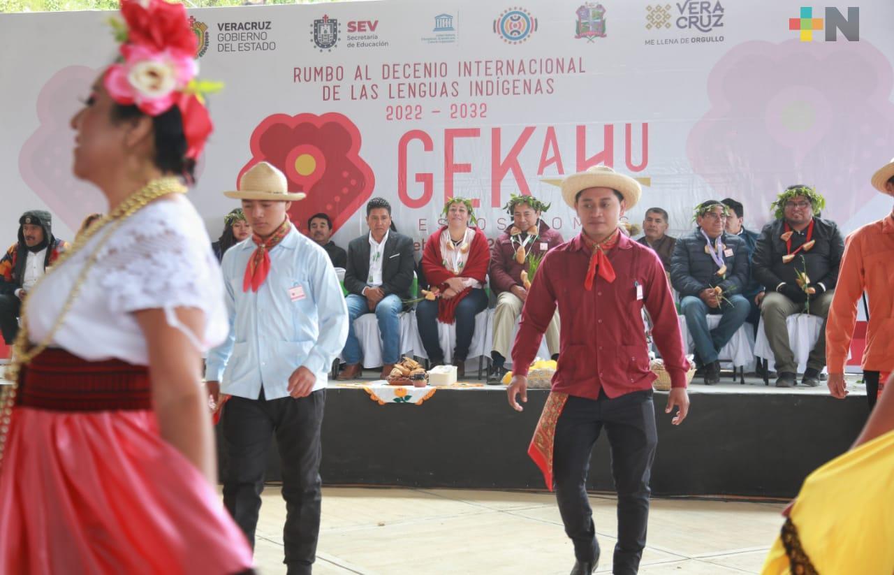 """Preservar lenguas originarias, objetivo de Festival Gekahu «Estos Somos"""""""