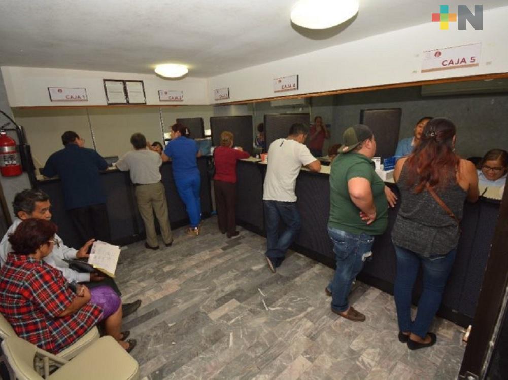 En Coatzacoalcos podrán aprovechar descuento en pago de predial hasta el 29 de febrero