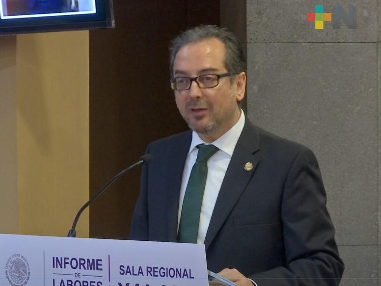 Tribunales y Salas del TEPJF estarán atentos a custodiar próximas elecciones: magistrado Enrique Figueroa