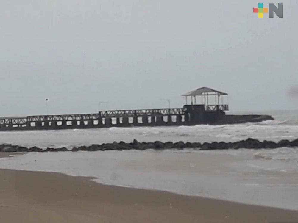 Cierre de playas de Tuxpan será hasta el mes de mayo