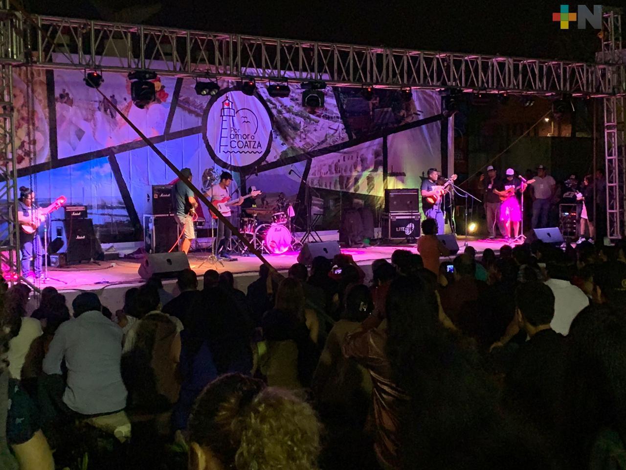 Con música presentan la iniciativa Por amor a Coatza