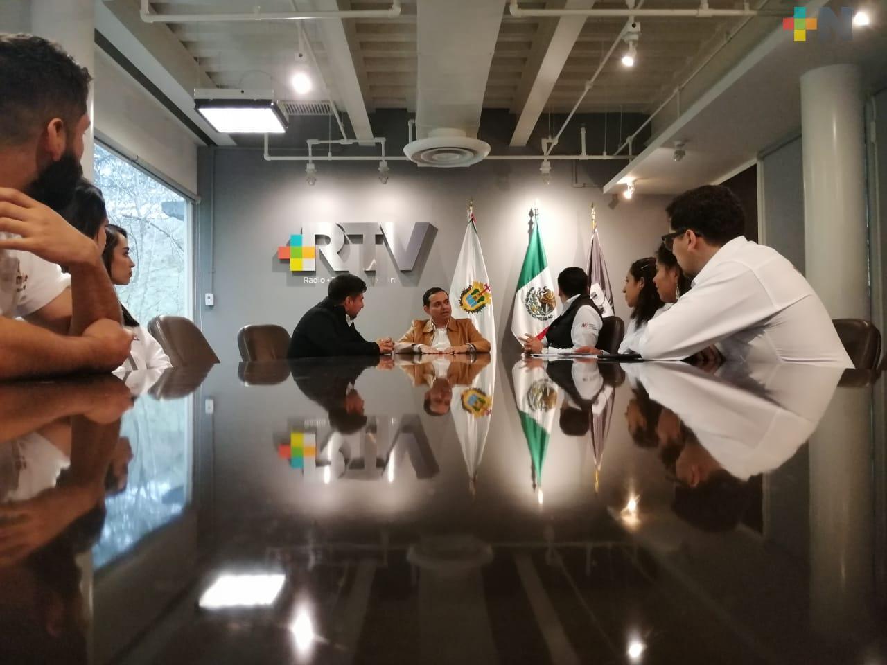 Directores del IMJUVE y de RTV refrendan colaboración con producciones dirigidas a jóvenes