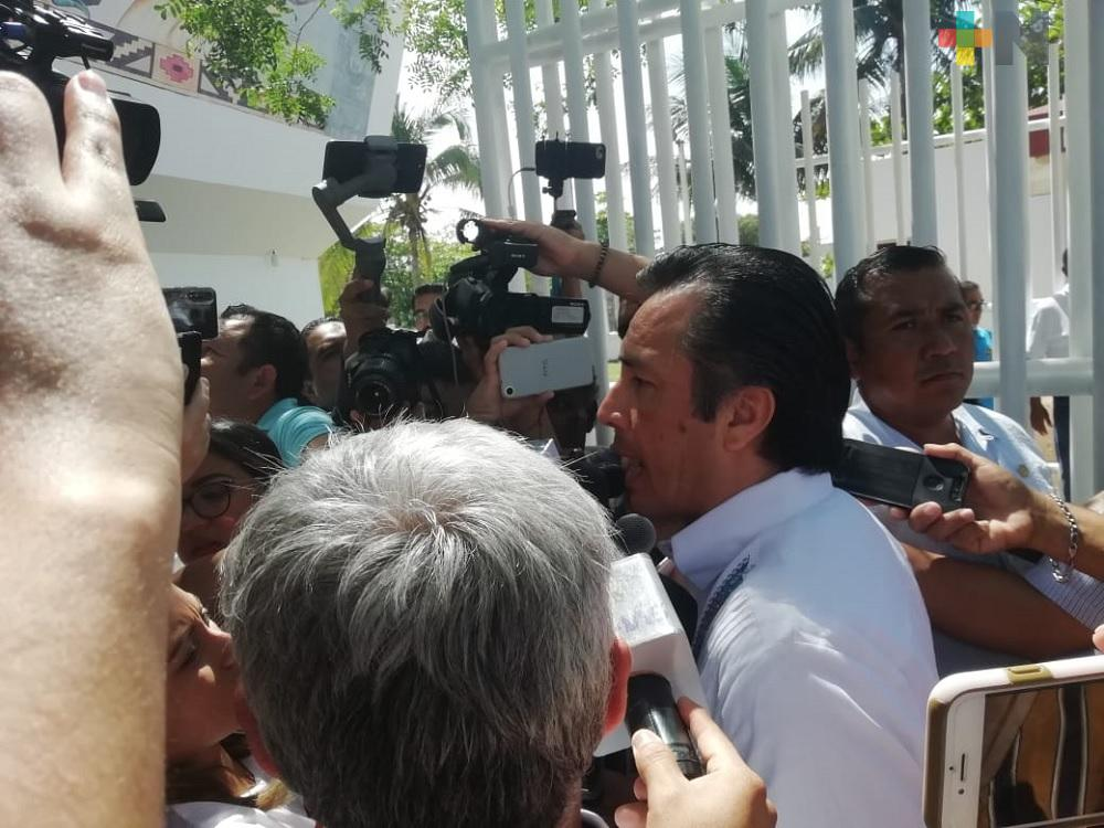 Se van esclarecer delitos y detener a responsables: Cuitláhuac García