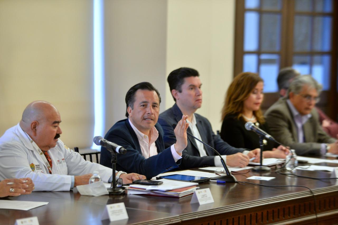 Veracruz sin casos confirmados de coronavirus; listos los protocolos en sector Salud