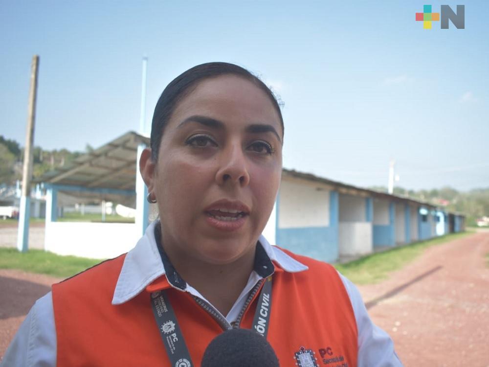 PC estatal imparte curso «Evento sociorganizativo de aglomeración de gente» en el norte de Veracruz