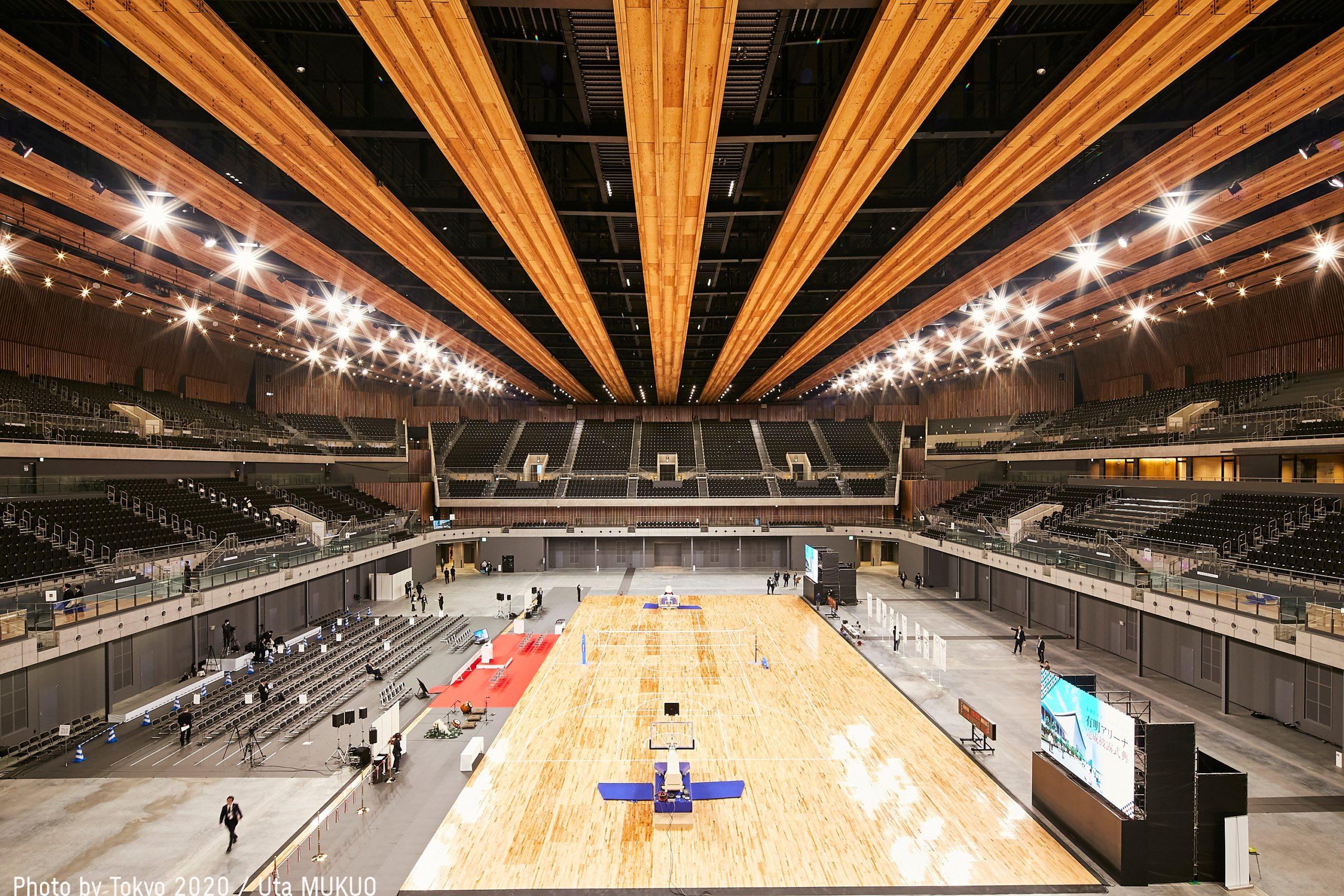 Inauguran  Ariake Arena, sede del voleibol y baloncesto de Tokio 2020