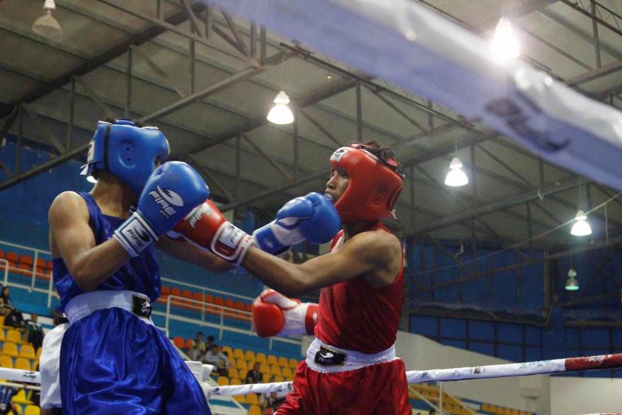 Continúan Juegos Estatales con Boxeo, Squash y Pesas