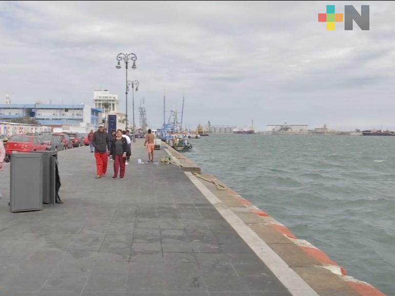 Persiste ambiente fresco a frío; evento de Norte y oleaje elevado en costa de Veracruz