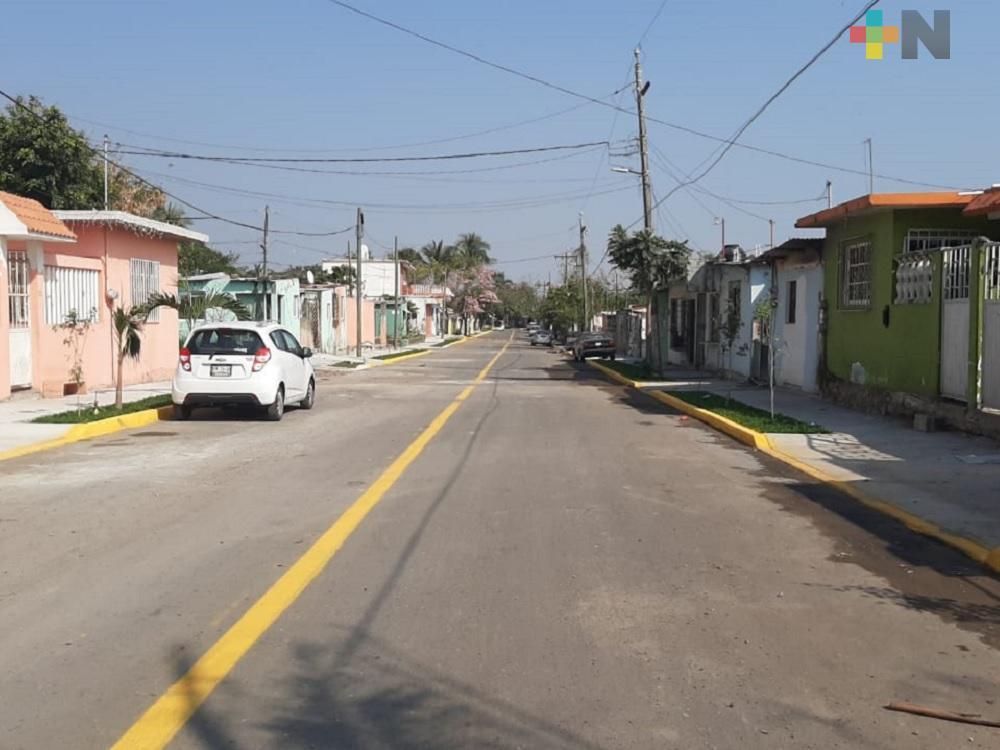 Pavimentación de colonia realizada por gobierno estatal, beneficia a ciudadanos
