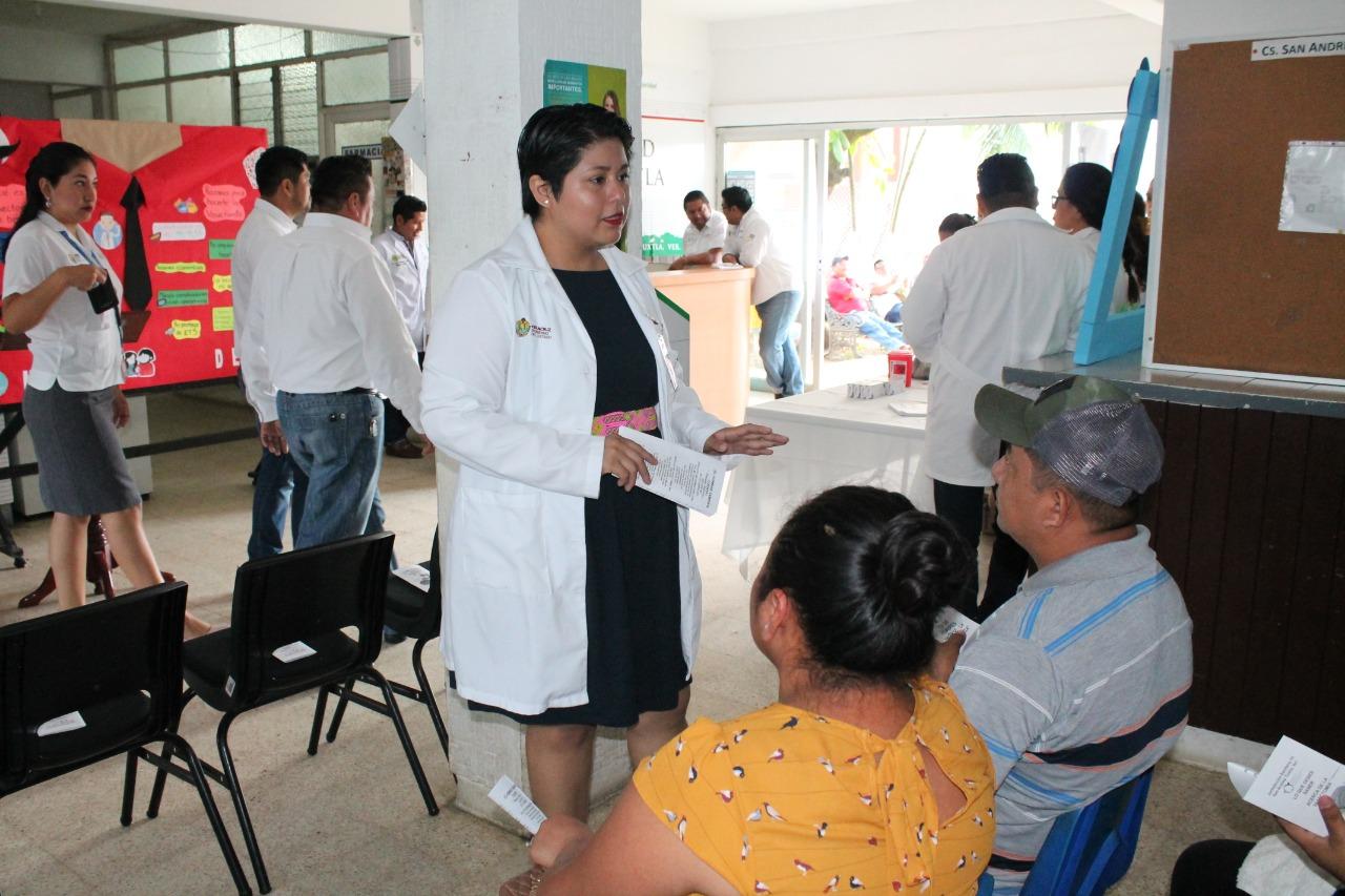 Brinda Secretaría de Salud atención preventiva a cáncer de próstata y planificación familiar