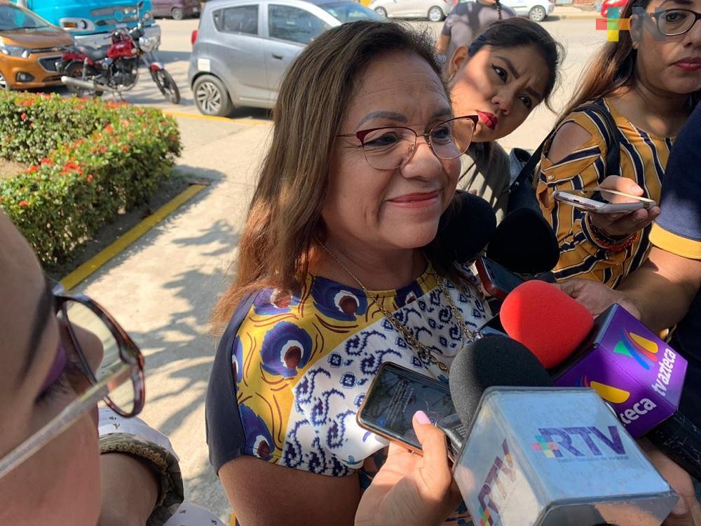 Se contempla para abril gratuidad y abasto de medicamentos en Veracruz: Diputada