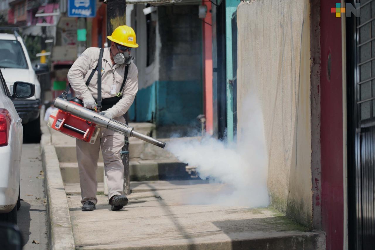 Secretaría de Salud intensifica cruzada contra el dengue