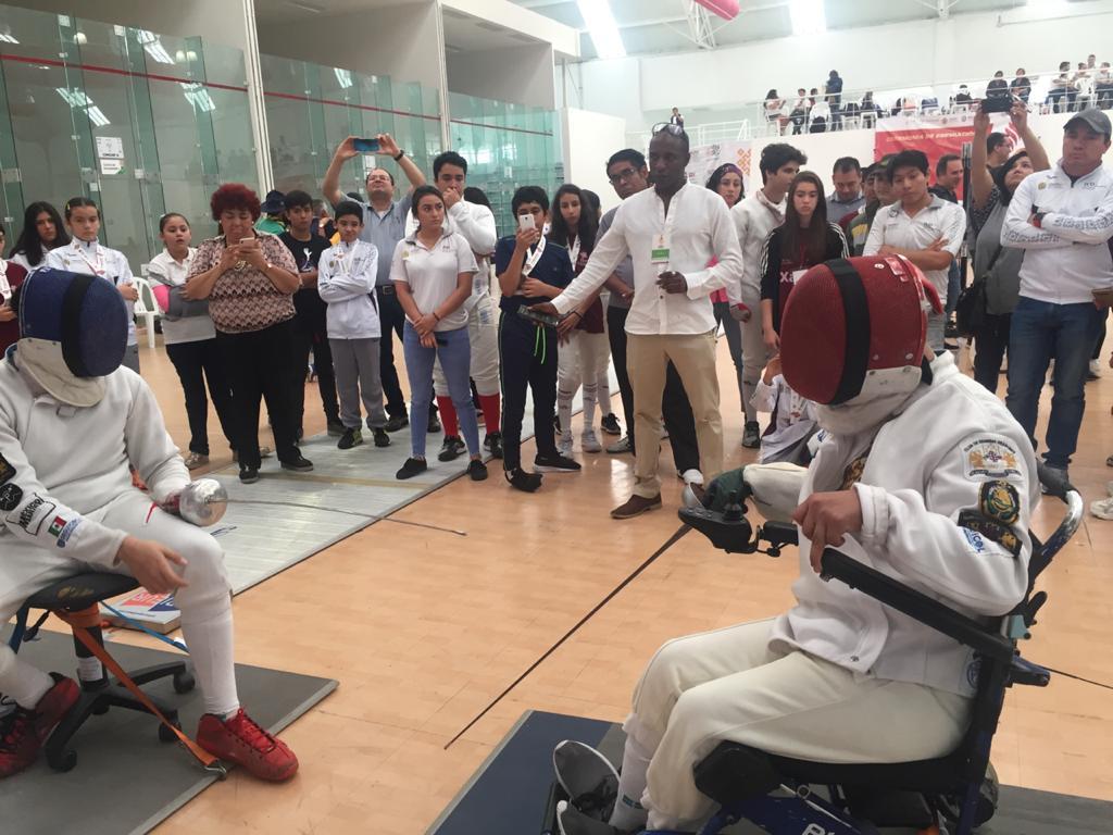 Realizan exhibición de Paraesgrima en Veracruz