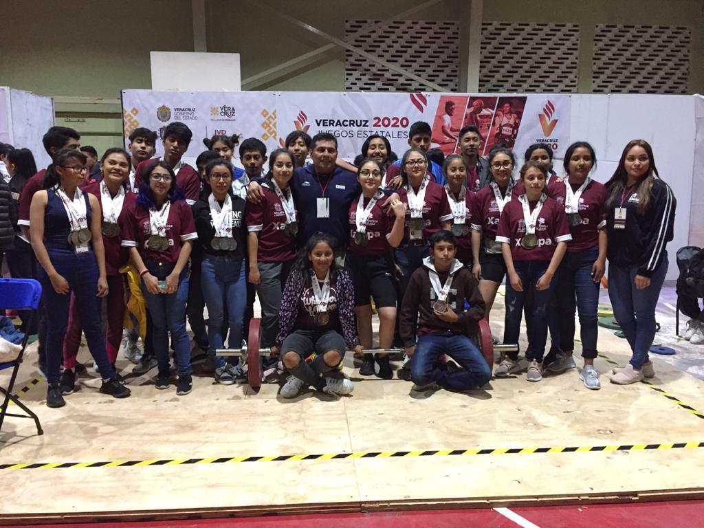 Cumple halterofilia con Juegos Estatales Veracruz 2020