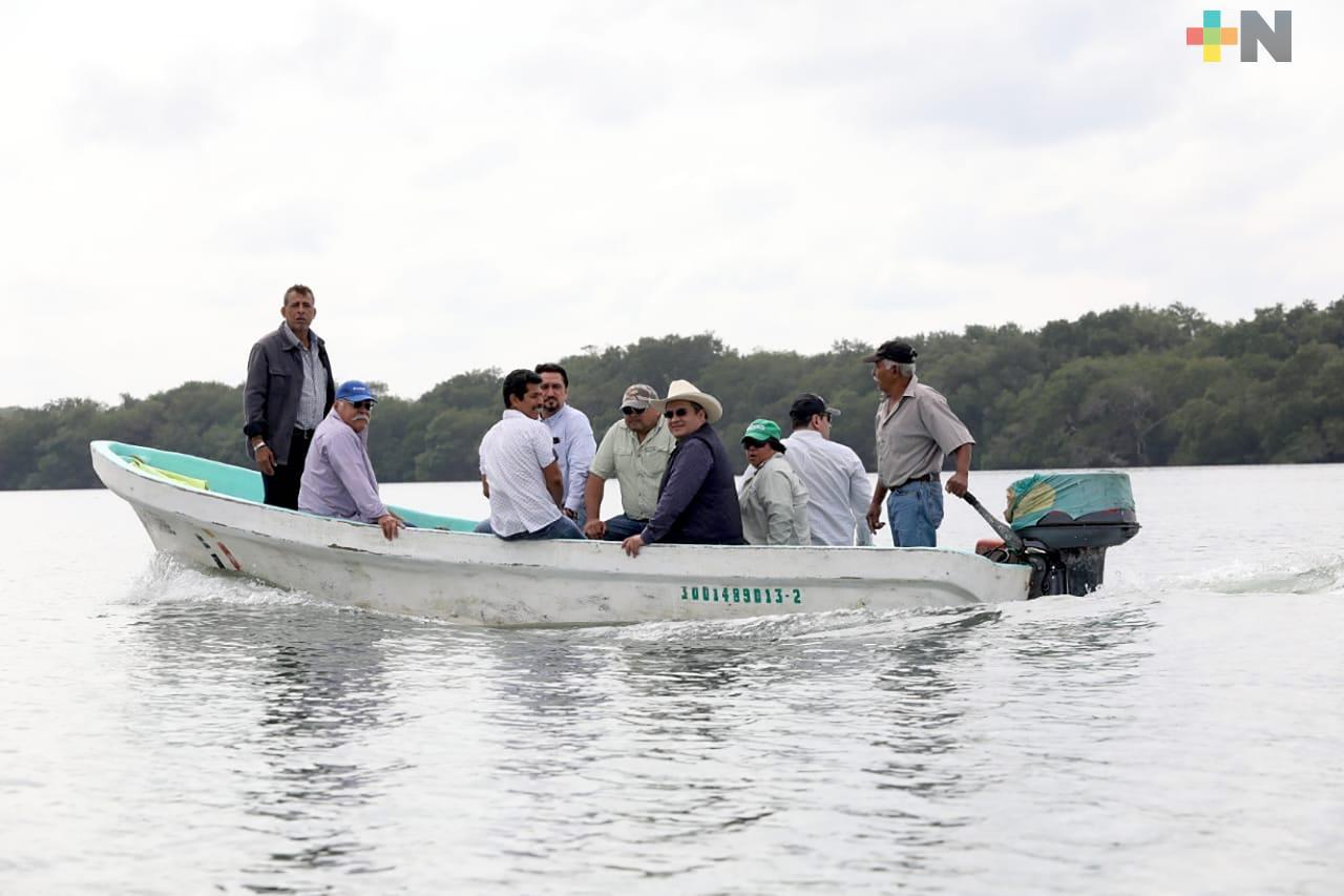 Beneficiadas mil 500 familias de pescadores de Ozuluama y Tampico Alto