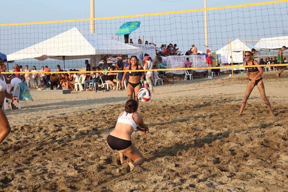 Coatza recibe Estatal de Voleibol de Playa de Juegos Conade