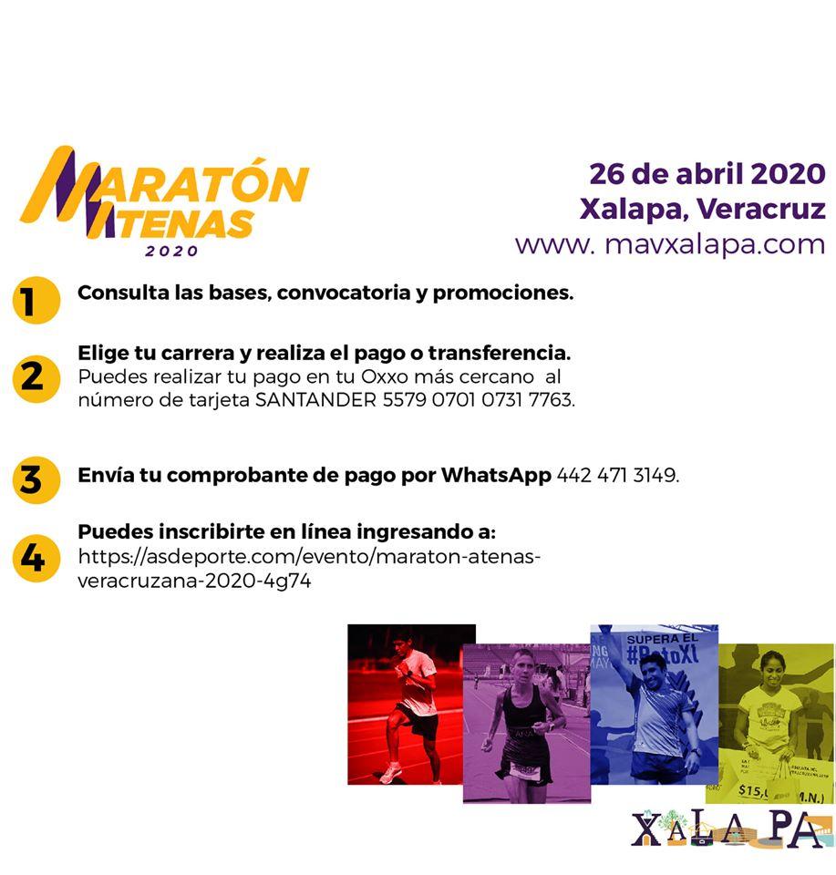 """Asociación Civil """"Menos kilos más vida"""" anuncia maratón Atenas veracruzana"""