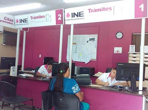 En el mes de agosto, abrirán los 35 módulos del INE en Veracruz