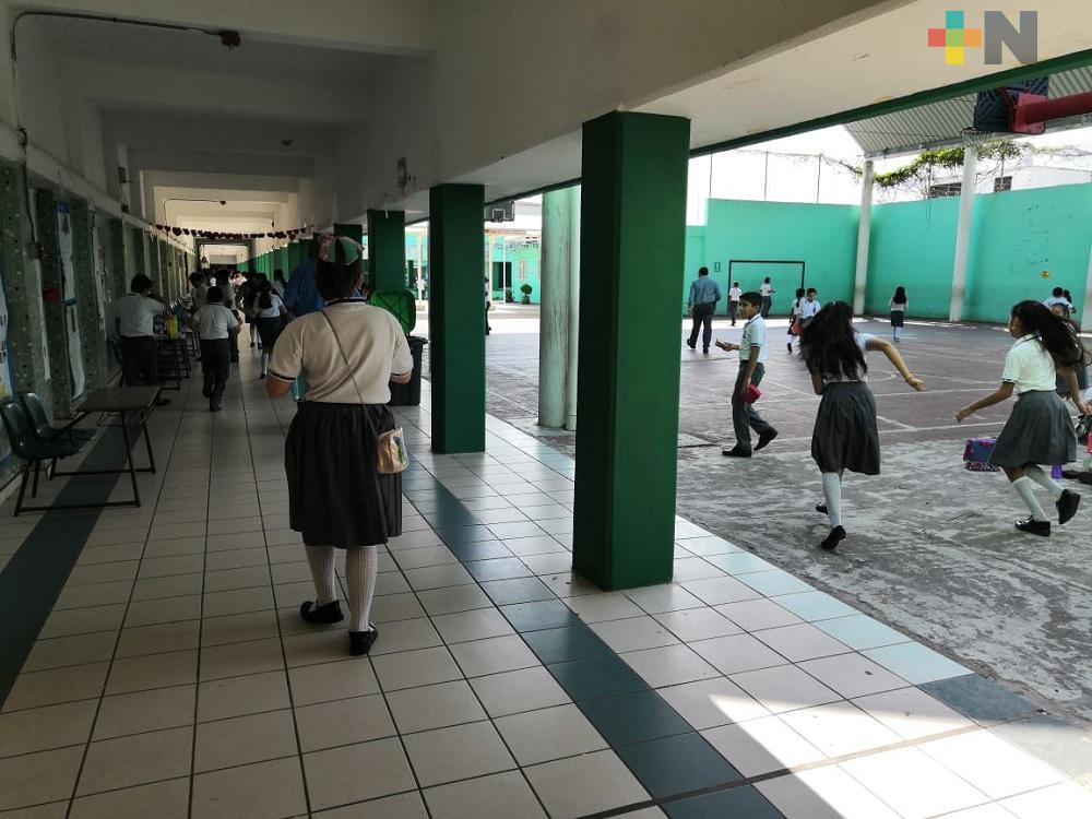 Con semáforo verde por varias semanas, propone AMLO que Campeche regrese a clases presenciales en febrero