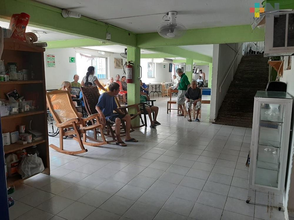 En asilo de ancianos de Veracruz podrían recibir vacunas contra el COVID-19 en próximos días