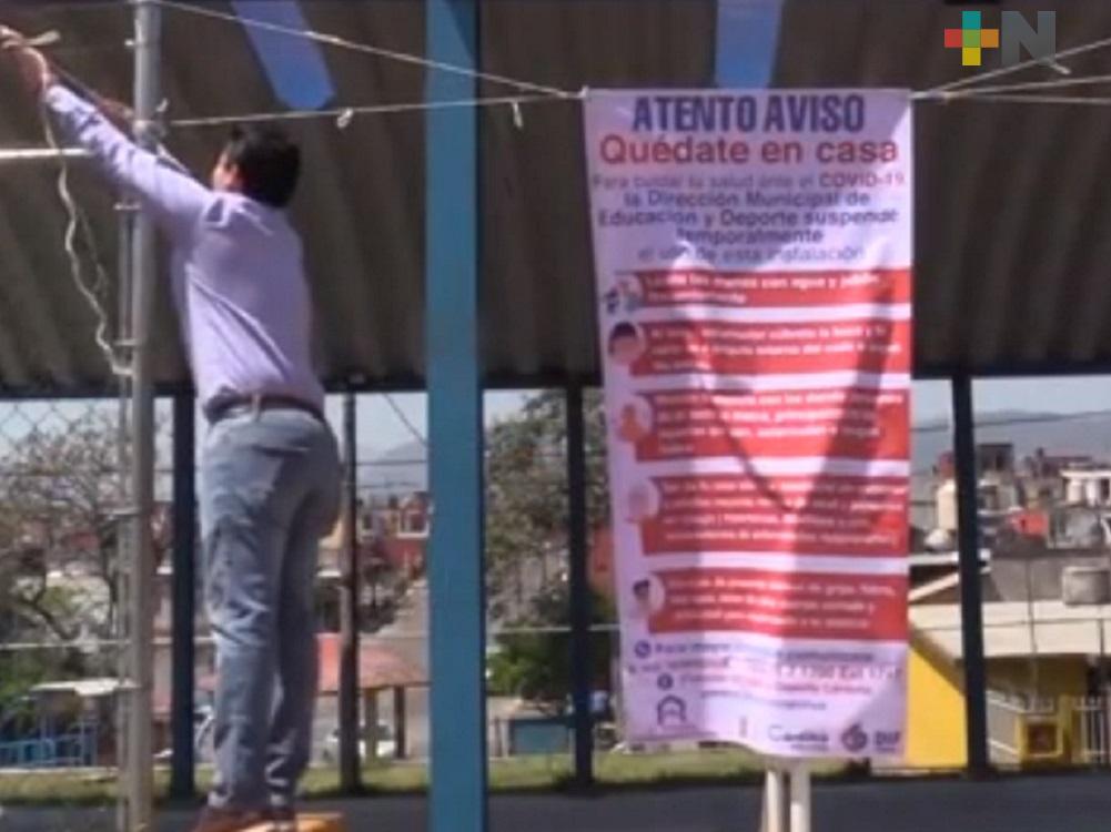 Ayuntamiento de Córdoba supervisa espacios deportivos para evitar contagios de Covid-19