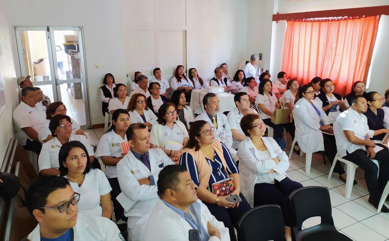 SS imparte pláticas para prevenir enfermedades respiratorias