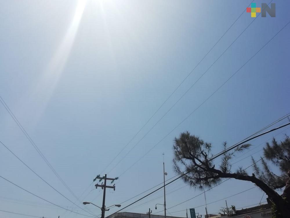 Próximo jueves se prevé aumento de temperatura y más periodos de sol en Veracruz