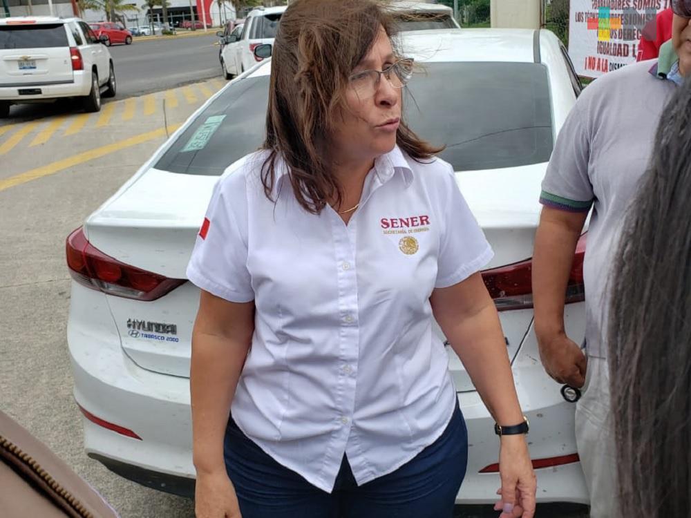 Casos de trabajadores de Pemex despedidos en el sur de Veracruz serán analizados: Rocío Nahle