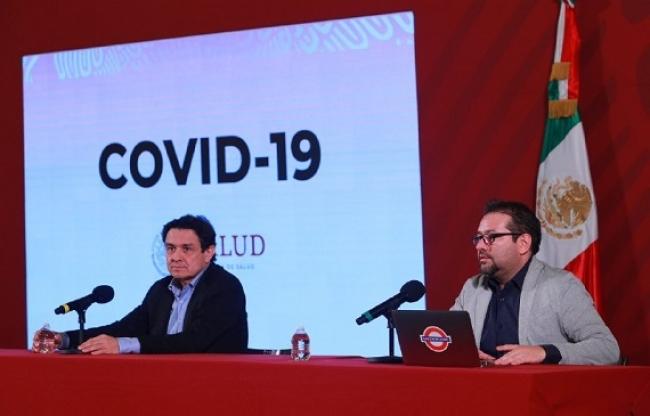 Reporta Secretaría de Salud 993 casos positivos a Covid-19 y 20 defunciones
