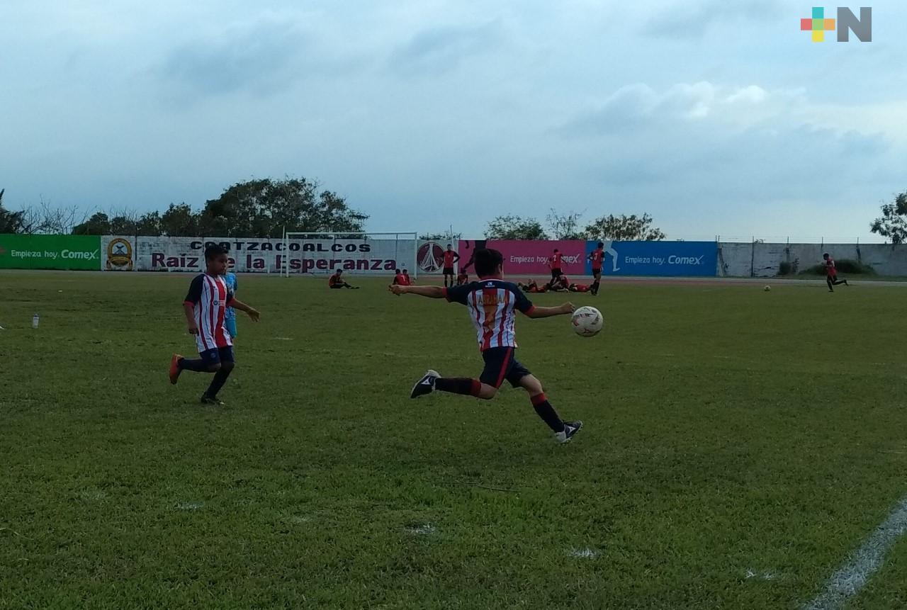 Coatzacoalcos recibirá torneo estatal infantil de futbol