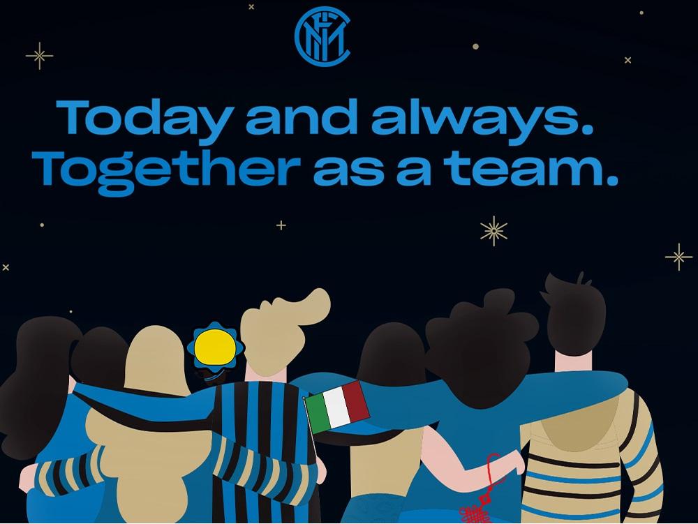 Inter de Milán dona medio millón de euros para combatir Covid-19