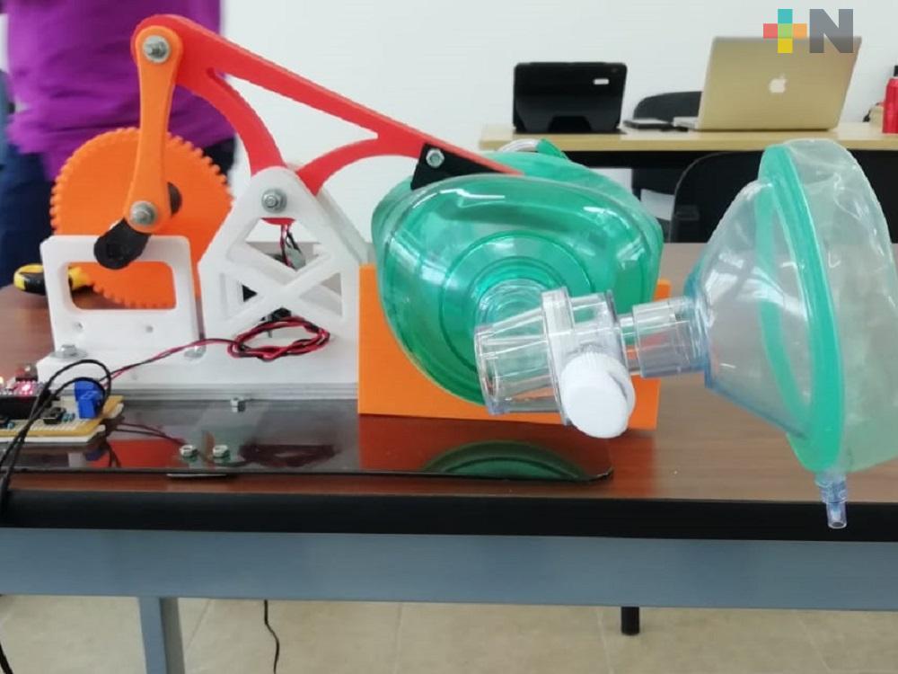 Itesco desarrolla un prototipo de respirador para  pacientes con Covid-19