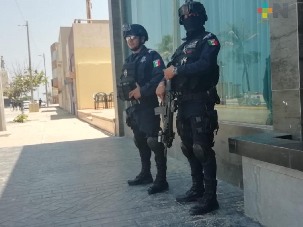 Gobernador Cuitláhuac envía a Congreso iniciativa de Ley del Sistema Estatal de Seguridad Pública