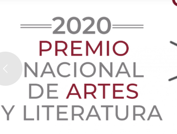 Convoca la Secretaría de Cultura al Premio Nacional de Artes y Literatura 2020