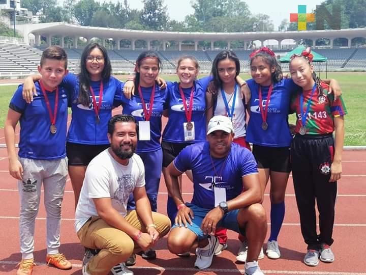 Titanes del Sur continúa en la formación de talentos para el atletismo