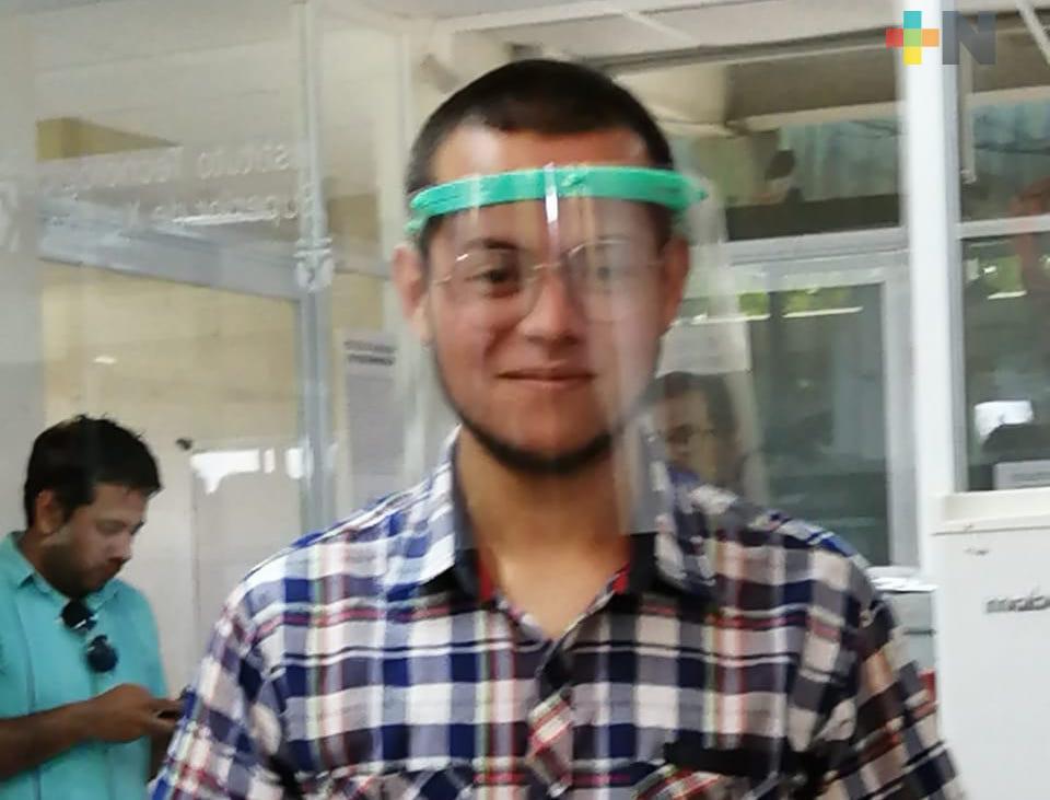 UV y Tecnológico Superior de Xalapa unen esfuerzos para fabricar caretas