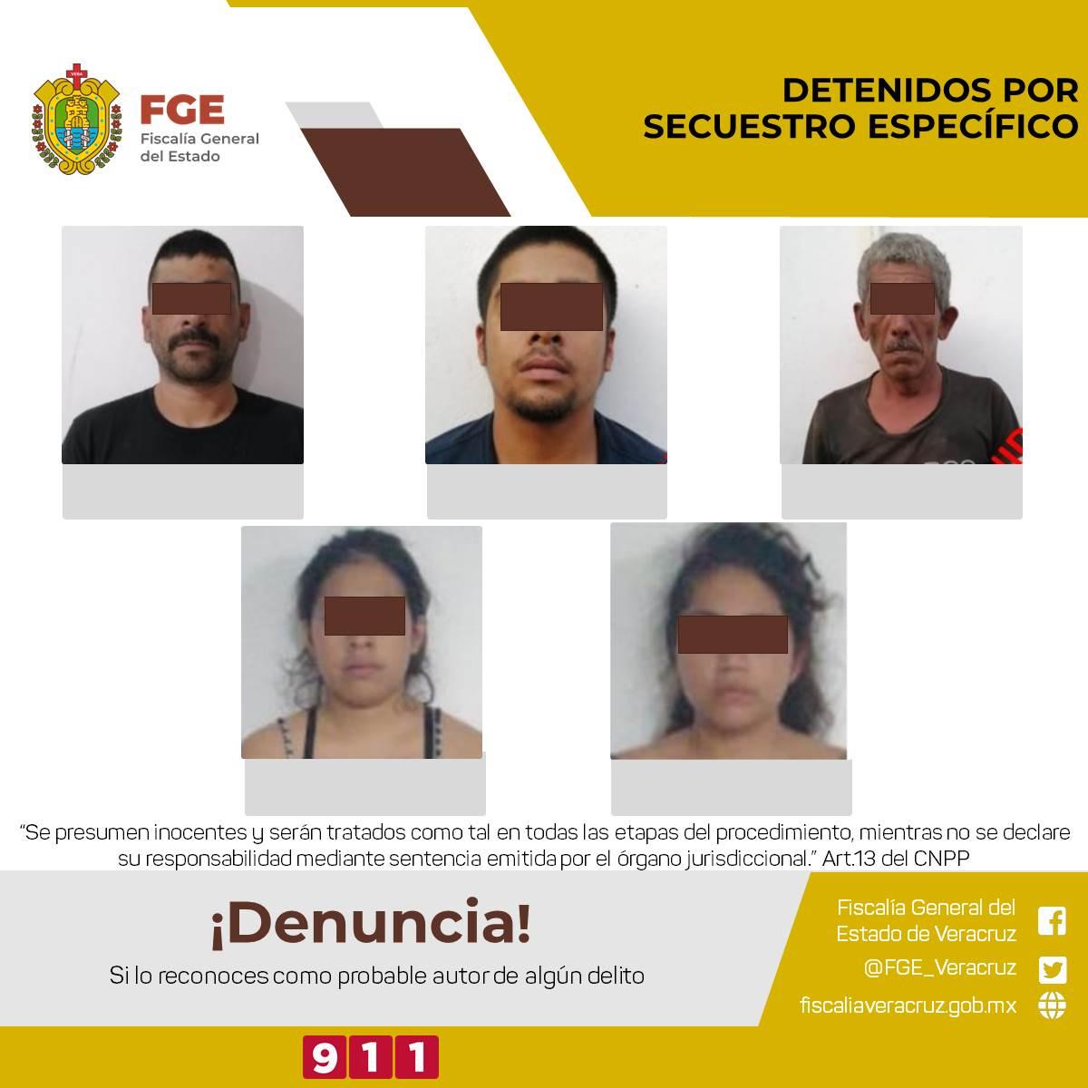 Desarticula UECS banda de presuntos secuestradores en el estado