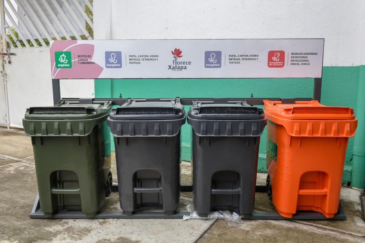 Instalarán contenedores de residuos sanitarios en el municipio de Xalapa