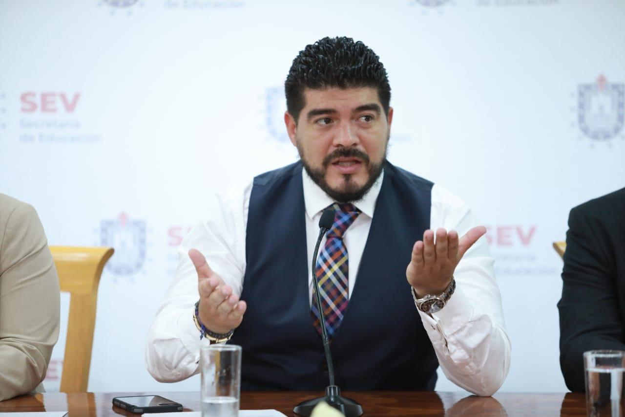 Veracruz listo para el ciclo escolar 2020-2021 a distancia: Zenyazen Escobar
