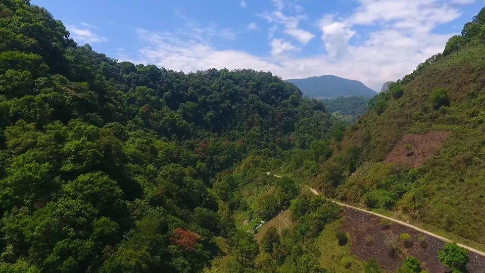 Entre las montañas de Chocamán