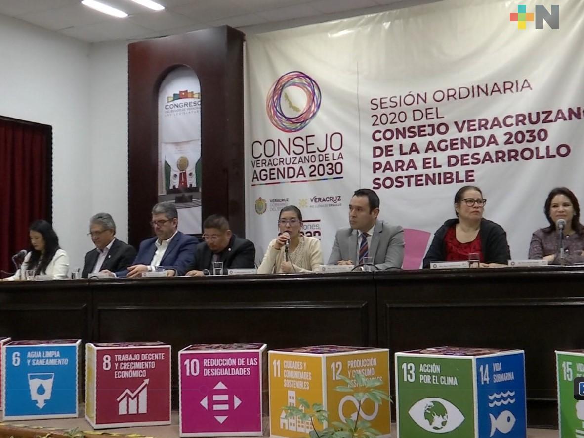 Sesiona el Consejo Veracruzano de la Agenda 2030 para el Desarrollo Sostenible
